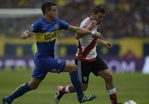 Leonardo Jara - Nicolas Domingo / Boca – River Torneo Primera Division Superclasico 24042016