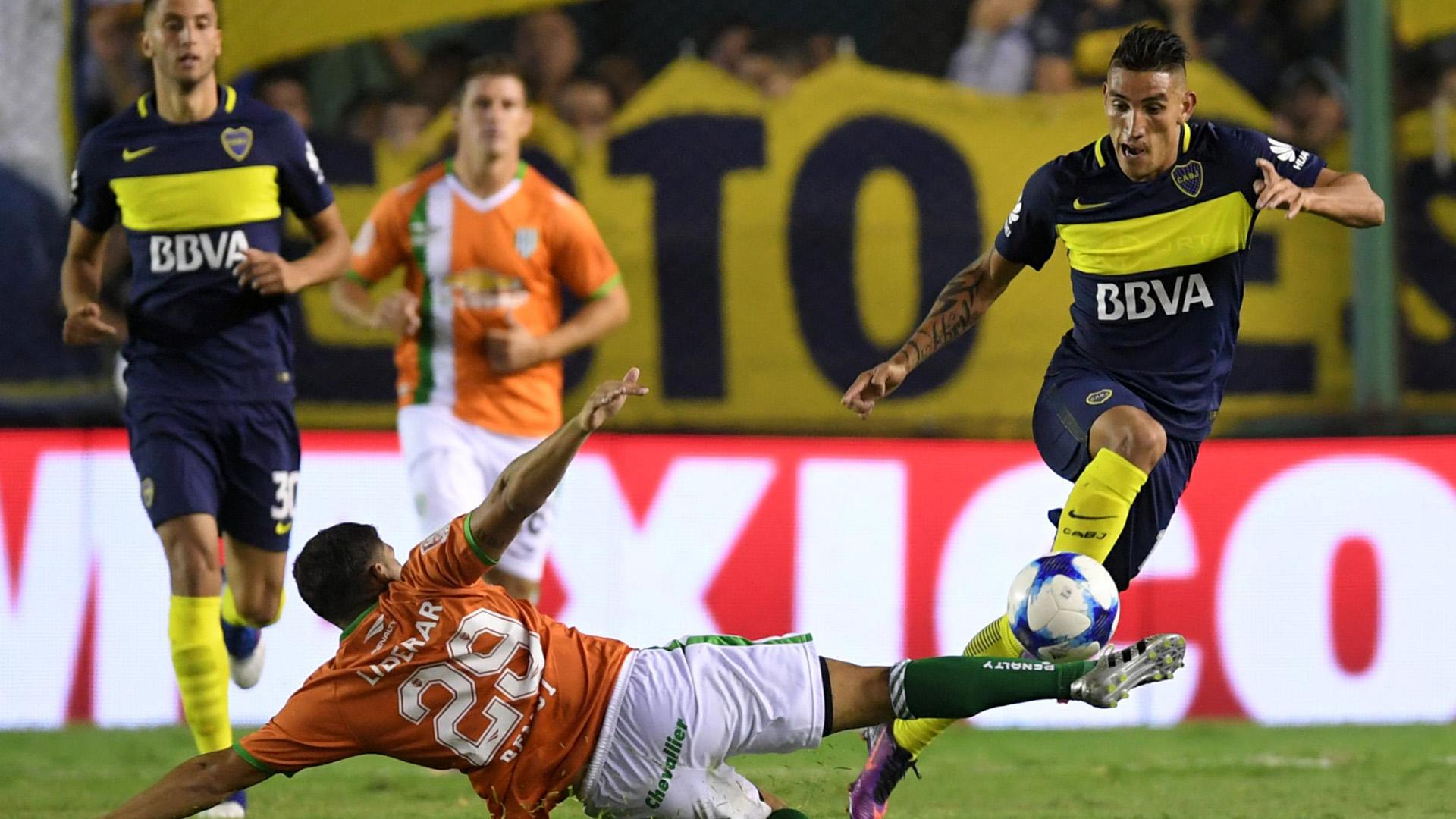 Ricardo Centurion Banfield Boca Primera Division 11032017