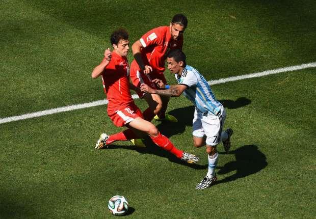 Las curiosidades del Argentina 1-0 Suiza