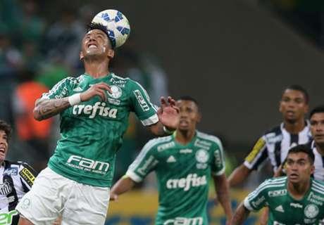Barrios tuvo minutos en Palmeiras