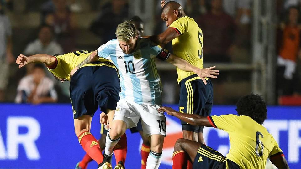 Lionel Messi / Argentina – Colombia Eliminatorias Sudamericanas 15112016