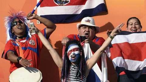 dce90c6ac6441 Costa Rica fans - Goal.com