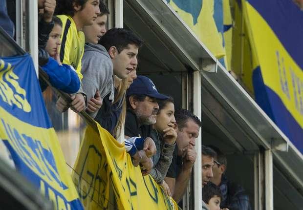 Maradona se convirtió en socio vitalicio de Boca