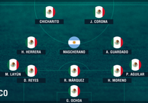 MÉXICO. Un volante central con experiencia, ganador, que pueda contagiar de gloria al resto: quite y juego. Mascherano, ideal.