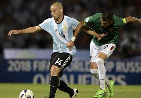 Argentine-Bolivie 2-0, résumé de match