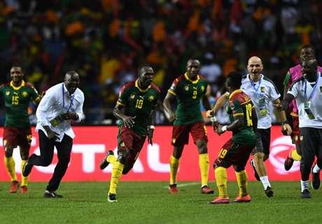 CAN 2017: Camarões 2 x 1 Egito