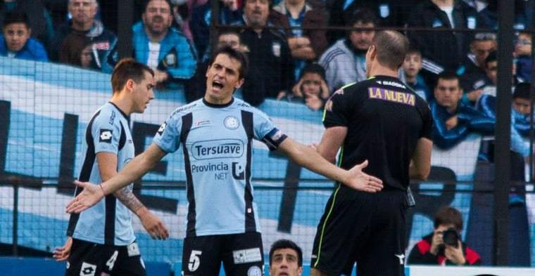 Guillermo Farré Racing vs Belgrano 02082015