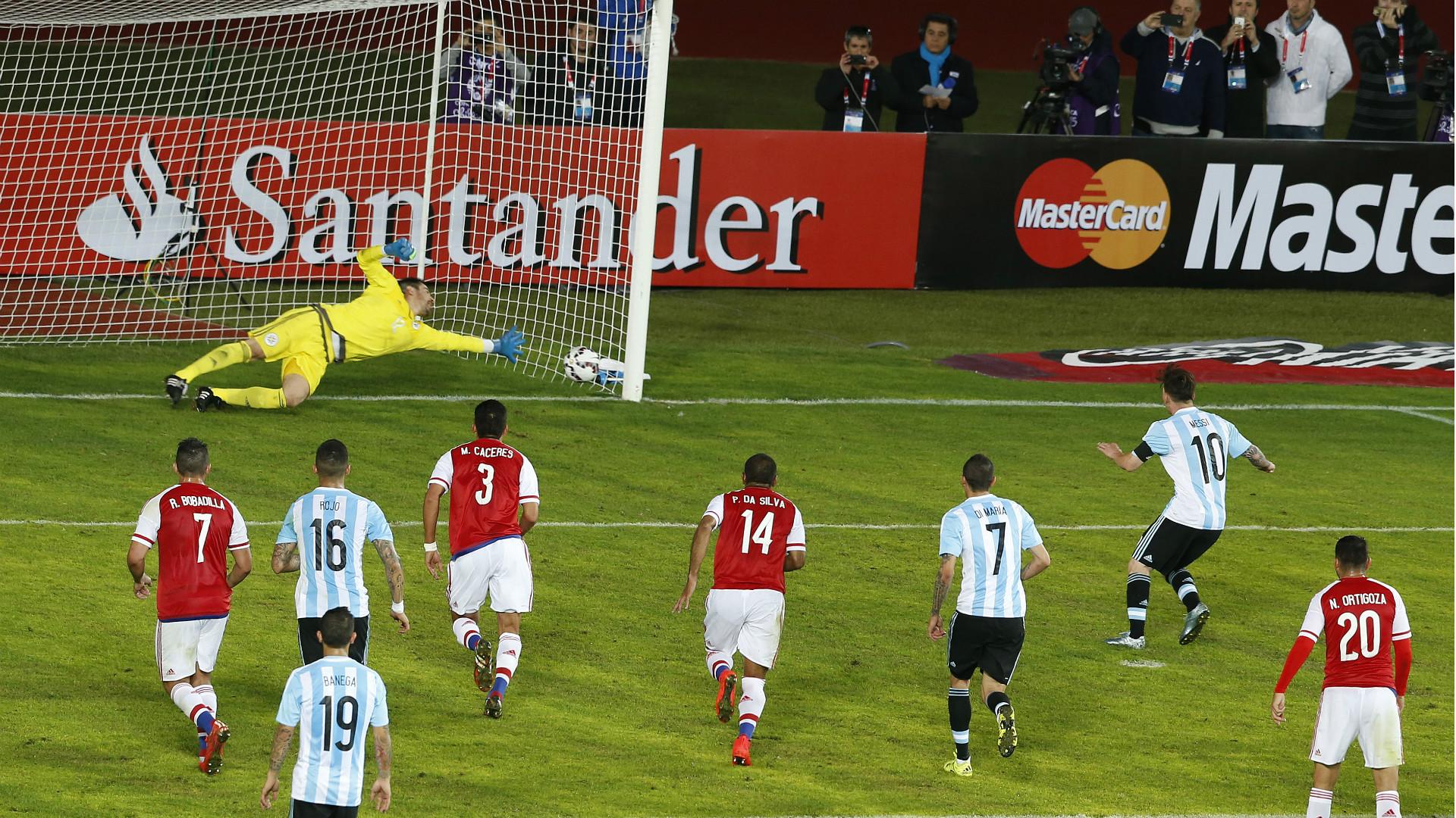 Постер к новости Аргентина – Парагвай – 2:2