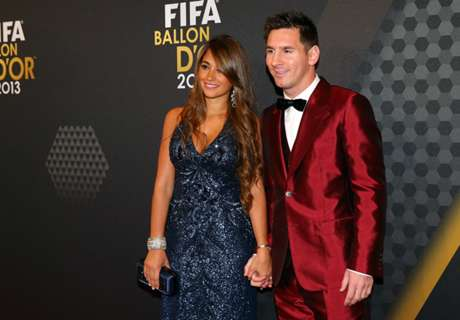 Los looks de Messi