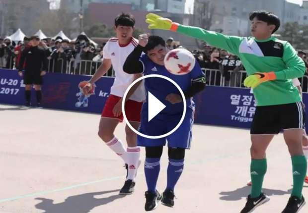 video maradona la mano de dios 2017 en corea