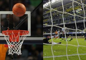 En el día en el que empieza la NBA, un juego de identificación entre el fútbol y el básquet.