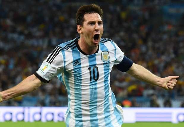Messi wins 100th Argentina cap