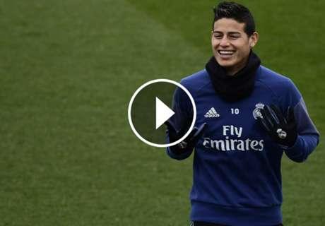 ► James descartó irse de Real Madrid