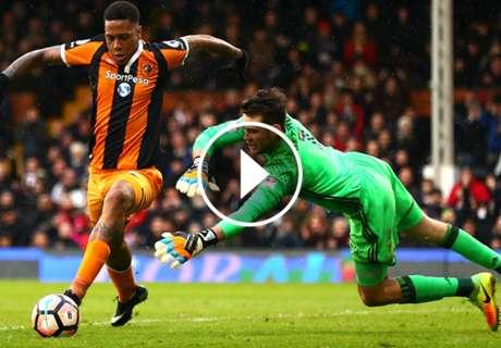 VÍDEO: Paró dos penaltis en un minuto