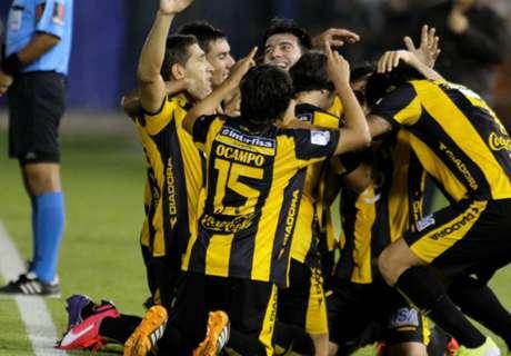 Guaraní goleó a Táchira por el grupo 8