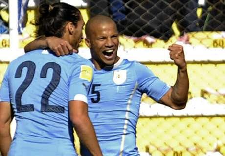 Eliminatorias: Bolivia 0-2 Uruguay
