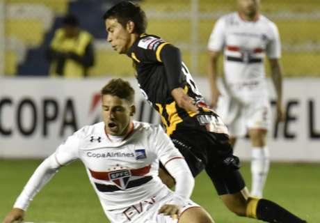 Libertadores: The Strongest 1-1 Sao Paulo