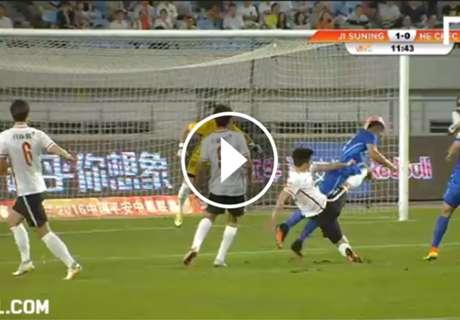 [영상] 로저 마르티네스, 장쑤 데뷔전에서 두 골 폭발