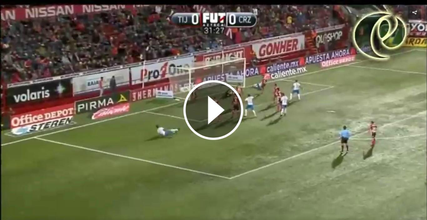 Tijuana vence a Cruz Azul 1-0