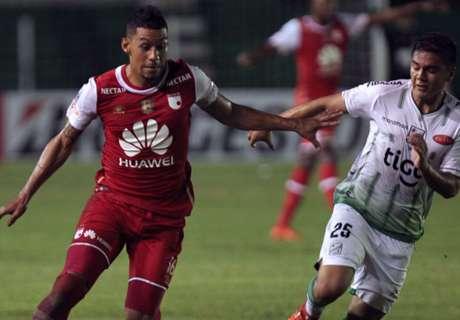 Libertadores: O. Petrolero 1-3 Santa Fe