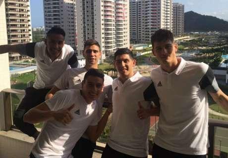 Ya están en Río