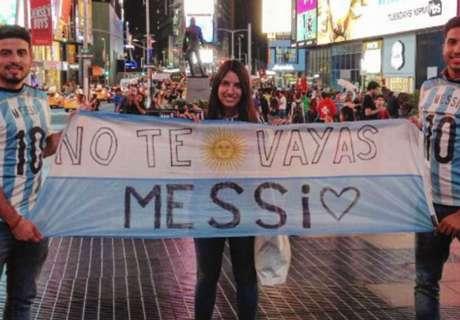 Messi Dinantikan 40 Juta Rakyat Argentina