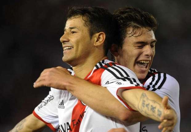 Mora, el goleador de la noche