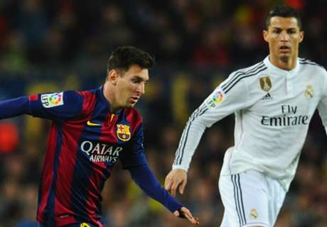 Messi way above Ronaldo in 2015 ranking