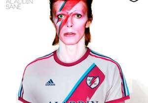 En este caso, el mítico Aladdin Sane del gran David Bowie.