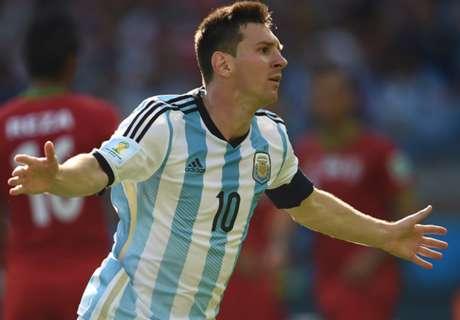 La Selección destacó a Messi