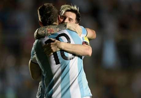 Los goleadores de Argentina