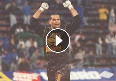 ► A 21 años del gol de Chilavert a Burgos