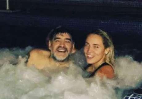 ¿Quién es la novia de Maradona?