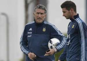 Argentina tuvo su primera práctica bajo las órdenes de Bauza.