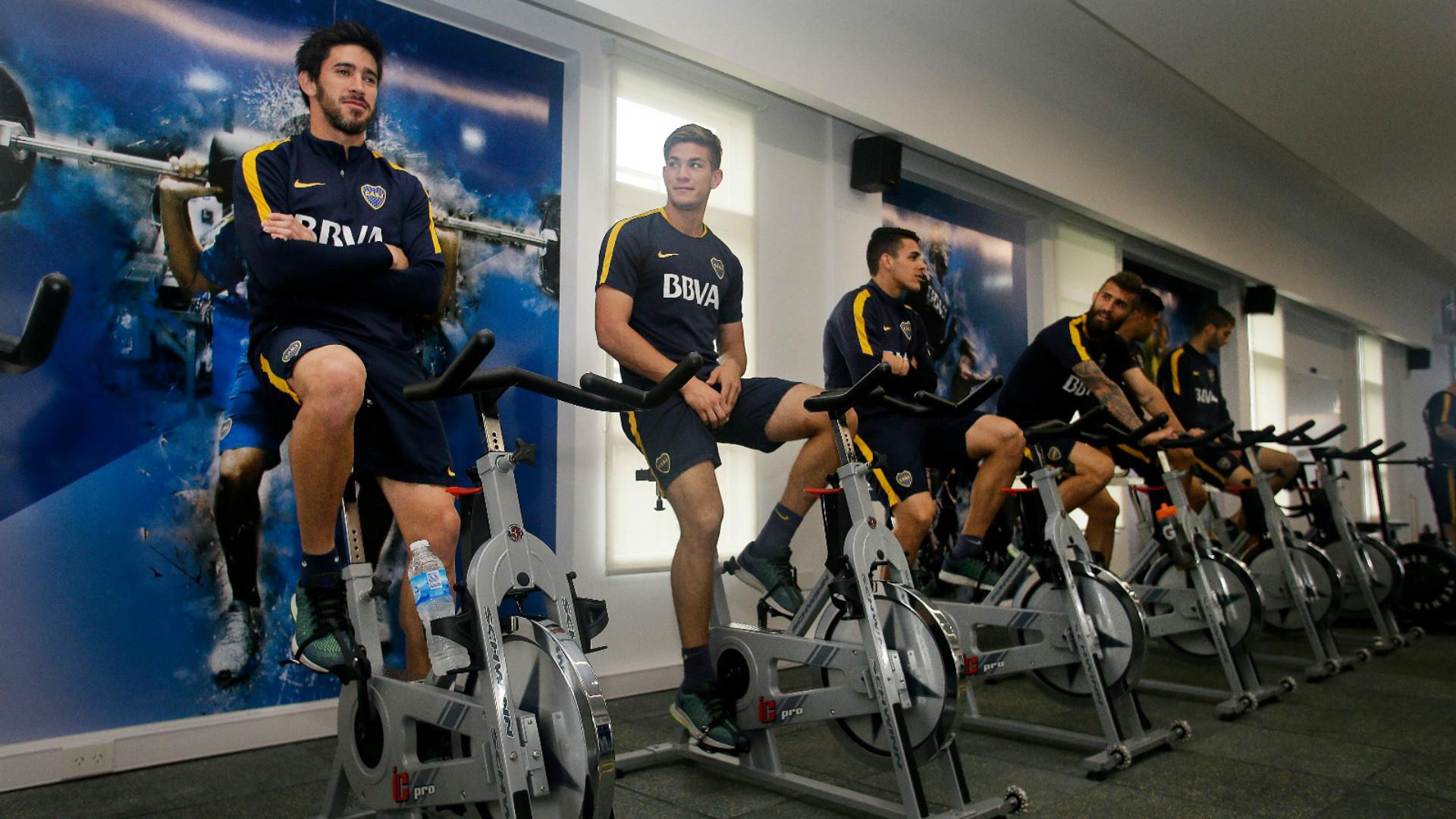 Boca entrenamiento gimnasio julio santella for Gimnasio el gym