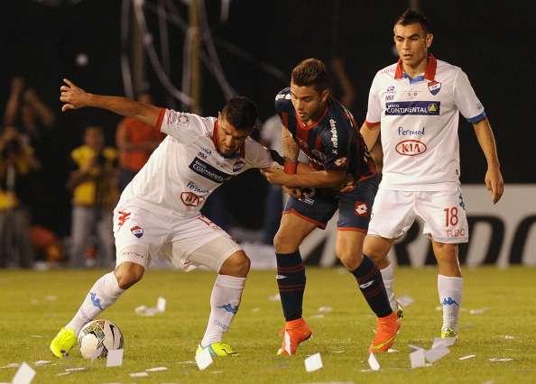 Umkämpftes Hinspiel: Nacional gegen San Lorenzo