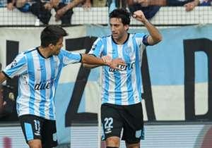 Milito gritó el único gol del partido.