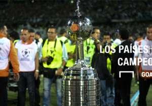 Argentina es el país con más campeonatos, seguido por Brasil y Uruguay.