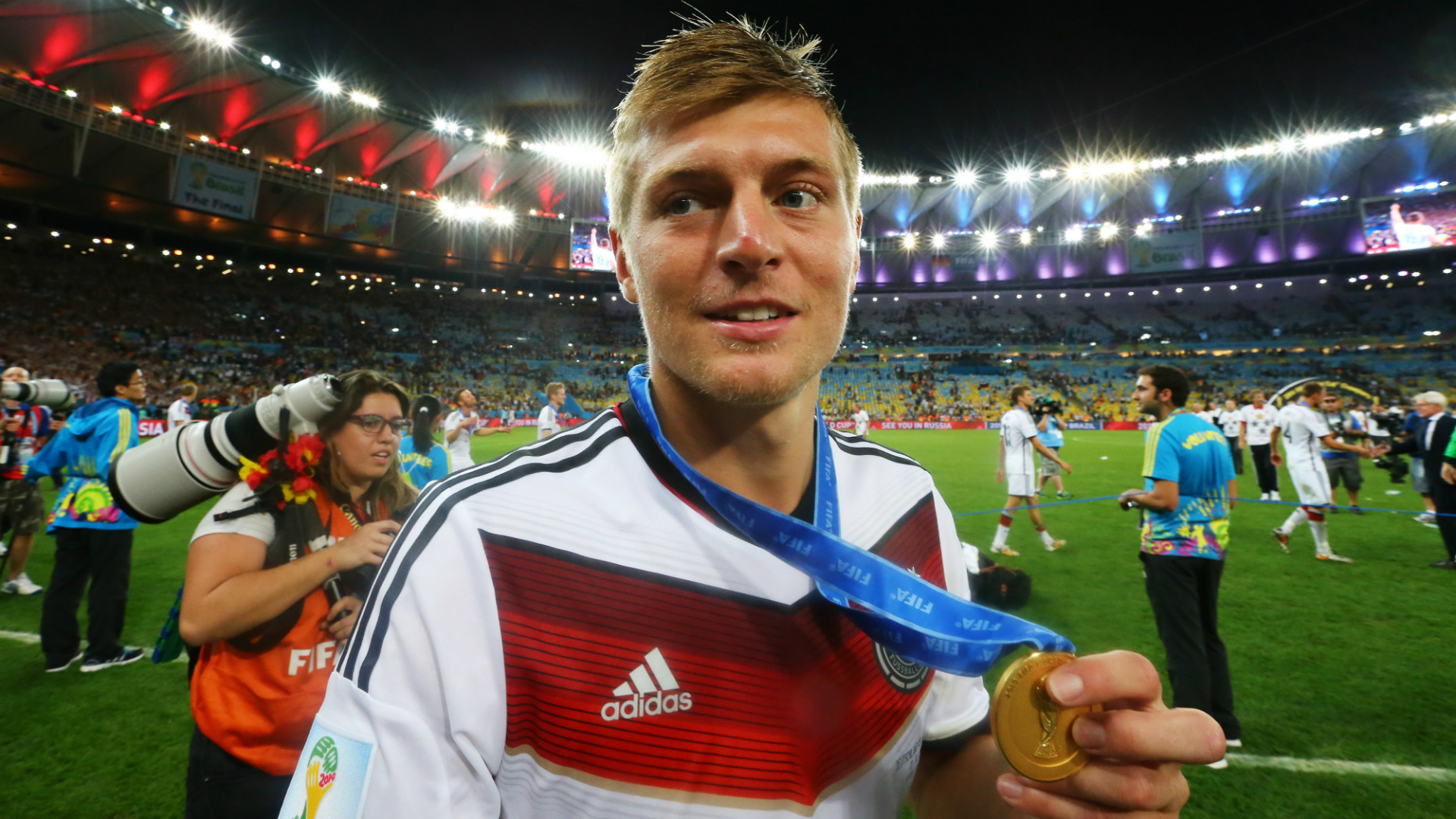 Toni Kroos Germany Argentina Fifa World Cup Brazil Final 13072014