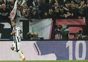 Tevez festejo Juventus - Lazio 18042015