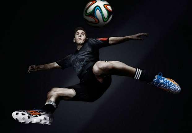 Messi tendrá unos botines exclusivos para Brasil.