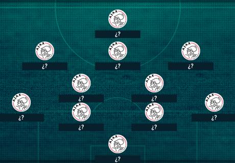 El XI del Ajax con Hirving Lozano