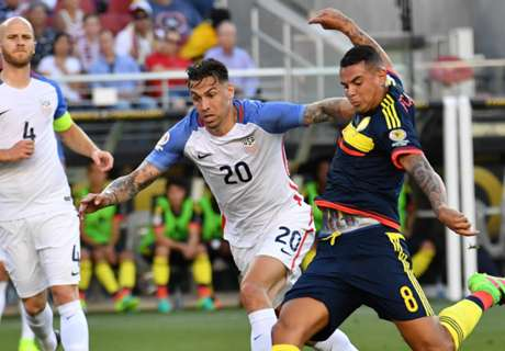 In Beeld: VS - Colombia
