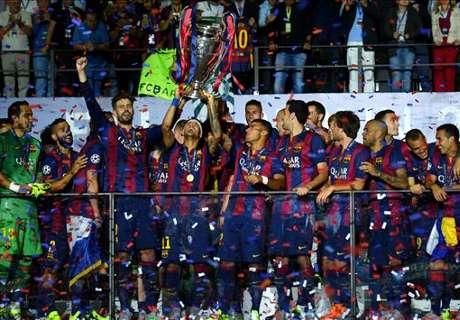 ECA: Barca zum Klub des Jahres gekürt