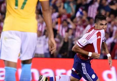 Eliminatorias Sca: Paraguay 2-2 Brasil