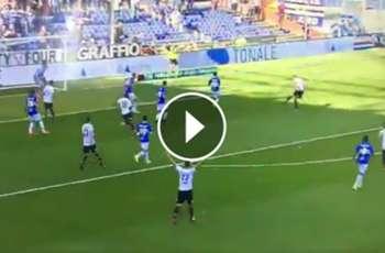 Isla anotó su primer gol con la camiseta del Cagliari ►