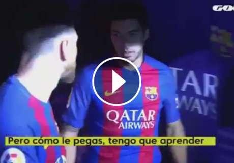 ► Suárez a Messi:
