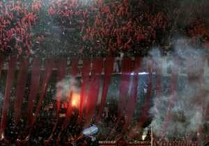 1) River. Rival: Boca, por los octavos de final de la Copa Libertadores.