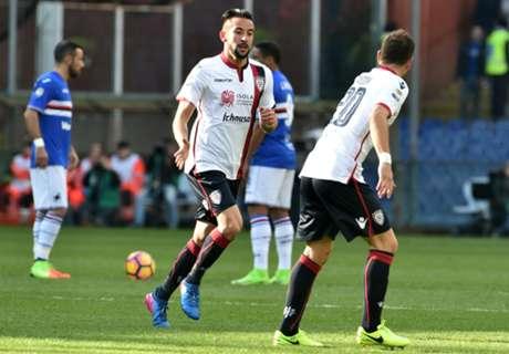 Cagliari empata en su visita a Sampdoria