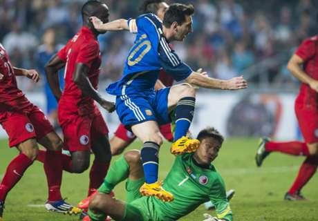 Messi: Kemenangan Atas HK Berguna